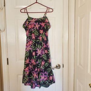 Super Cute Girls Floral Dress Size L10-12